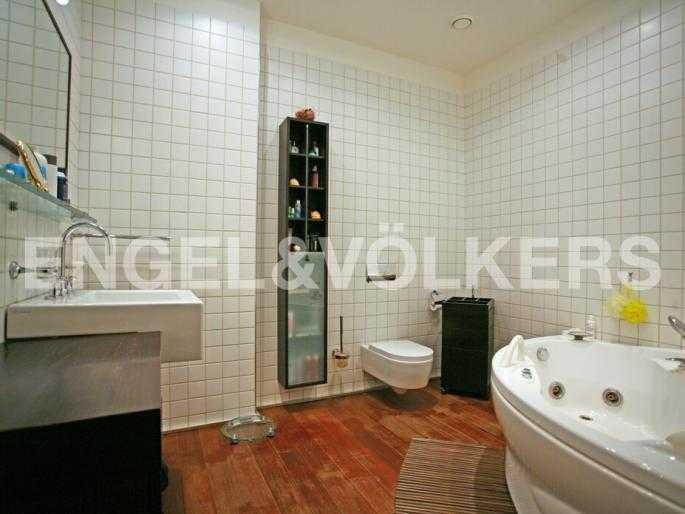 Элитные квартиры в Центральном районе. Санкт-Петербург, Захарьевская, 33. Ванная комната