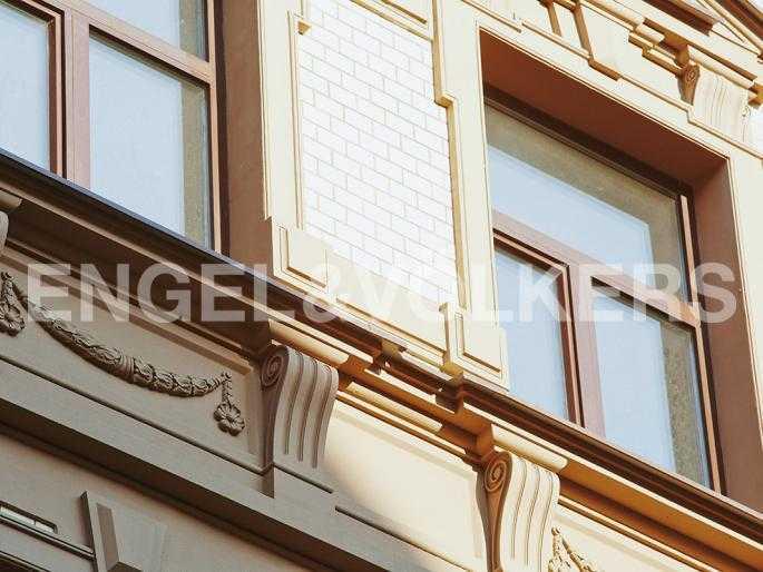 Элитные квартиры в Центральном районе. Санкт-Петербург, Стремянная, 15. Архитектурсные элементы фасады