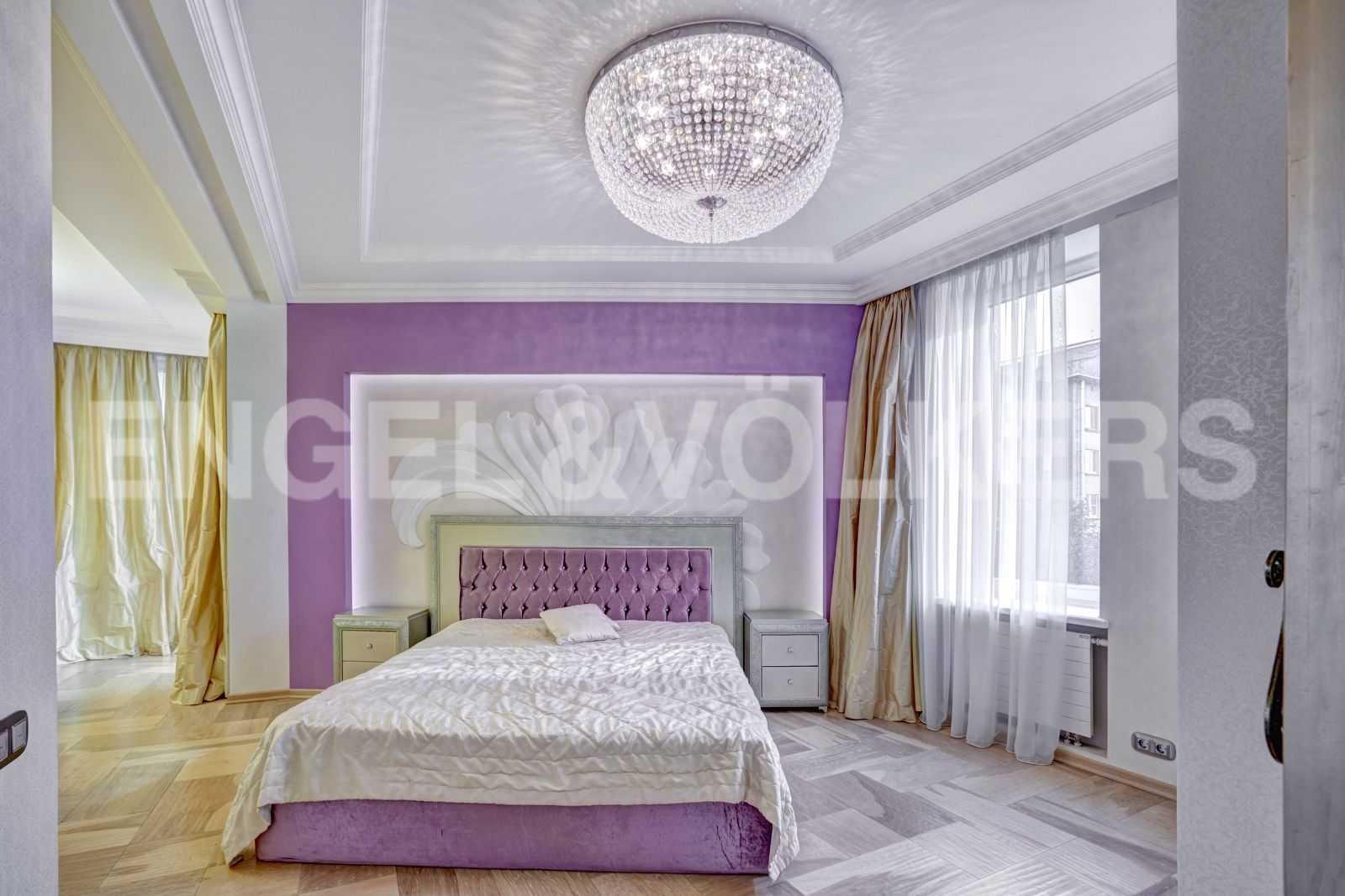 Элитные квартиры в Центральном районе. Санкт-Петербург, Тверская, 1А. Спальня