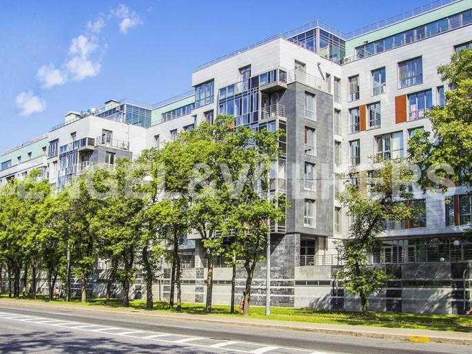 Элитные квартиры на . Санкт-Петербург, Морской пр., 15. Фасад дома