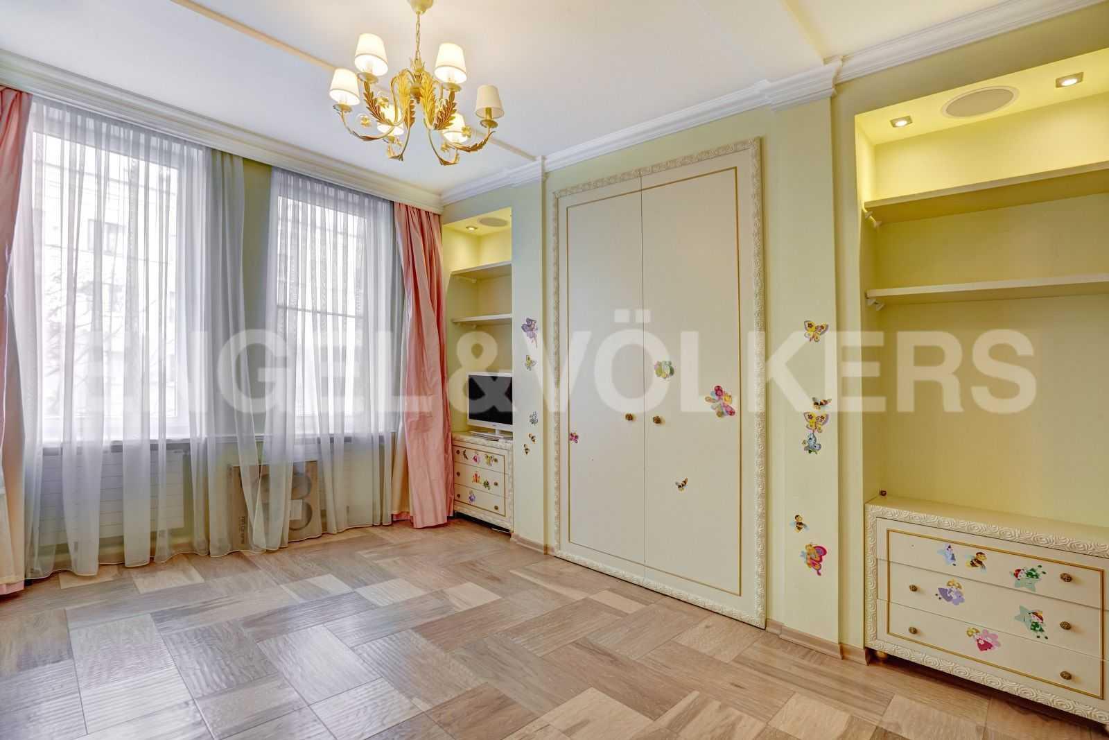 Элитные квартиры в Центральном районе. Санкт-Петербург, Тверская, 1А. Детская комната