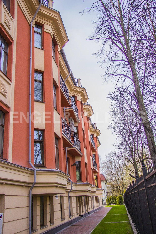 Элитные квартиры в Приморском районе. Санкт-Петербург, Дибуновская, 22. Фасад дома