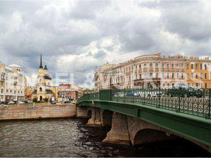 Элитные квартиры в Центральном районе. Санкт-Петербург, наб. реки Фонтанки, 30. Расположение на набережной реки Фонтанки