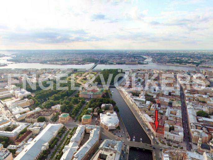 Элитные квартиры в Центральном районе. Санкт-Петербург, наб. реки Фонтанки, 30. Месторасположение