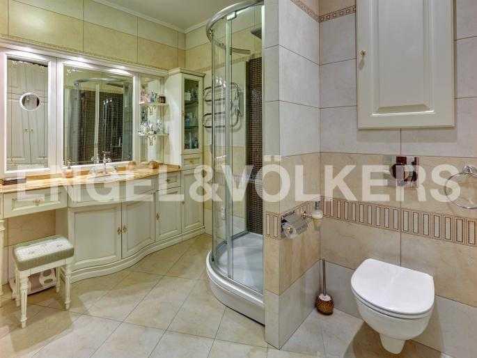 Элитные квартиры в Центральном районе. Санкт-Петербург, Исполкомская, 4-6. Ванная комната