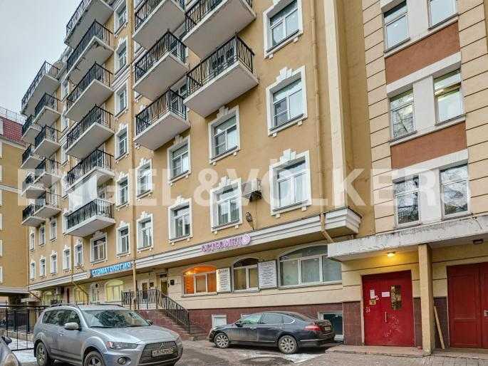 Элитные квартиры в Центральном районе. Санкт-Петербург, Исполкомская, 4-6. Фасад дома