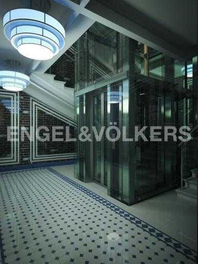 Лифтовой холл корпуса Амстердам