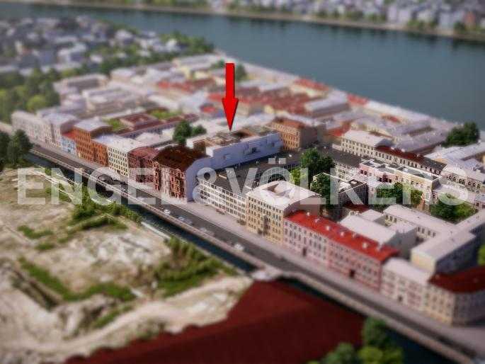 Элитные квартиры в Центральном районе. Санкт-Петербург, наб. Адмиралтейского канала, 15. Местоположение