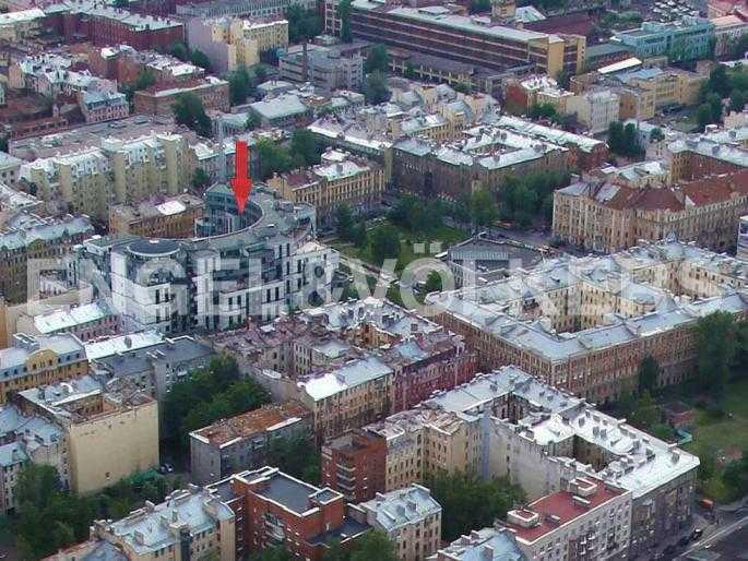 Элитные квартиры в Петроградский р-н. Санкт-Петербург, Б. Зеленина, 8. Месторасположение