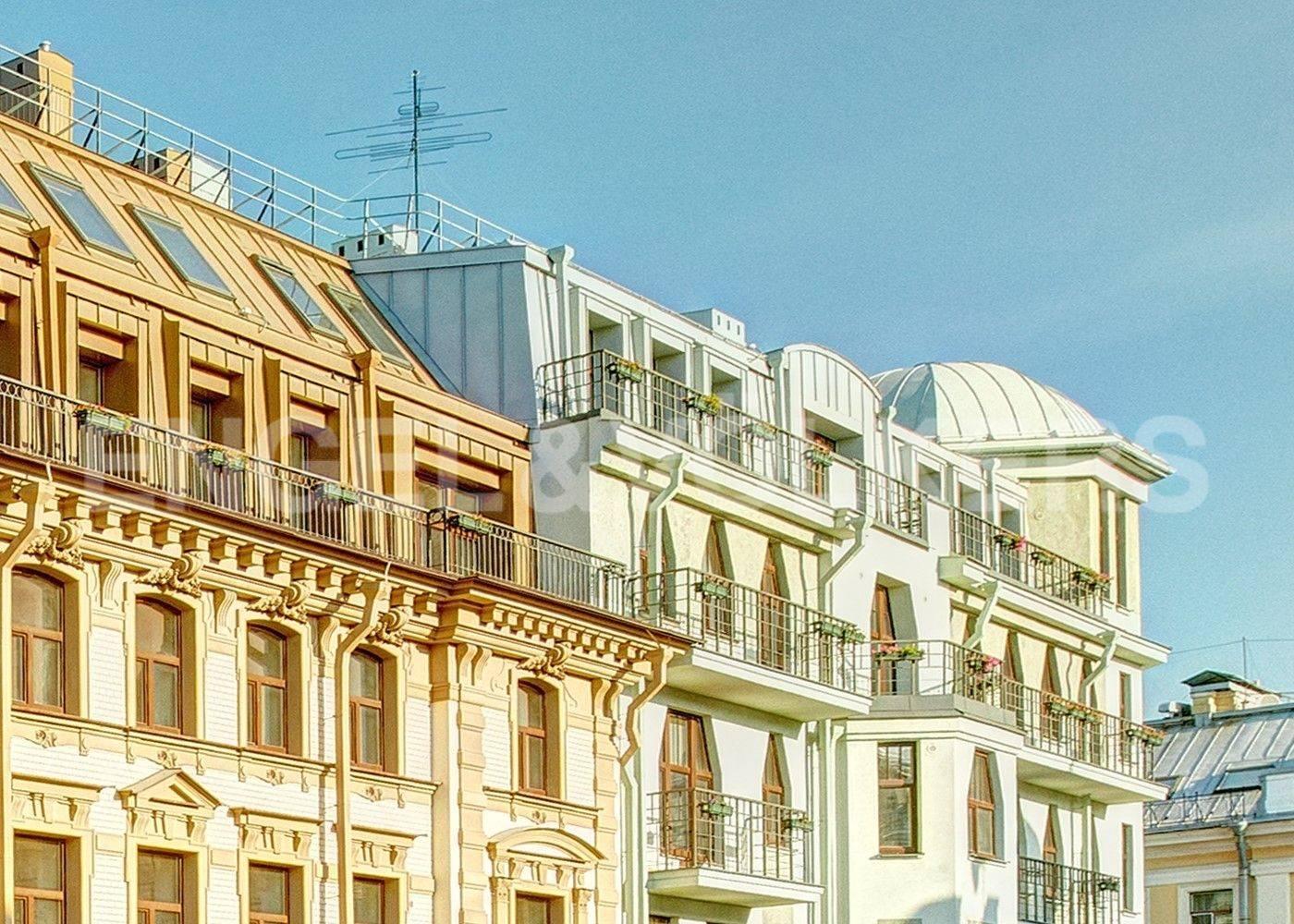 Элитные квартиры в Центральном районе. Санкт-Петербург, Стремянная, 15.
