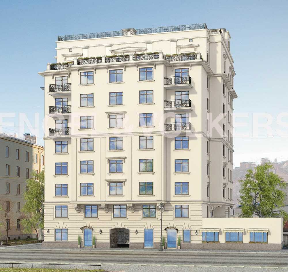 Клубный дом «Петроградец» расположен в Петроградском р-не