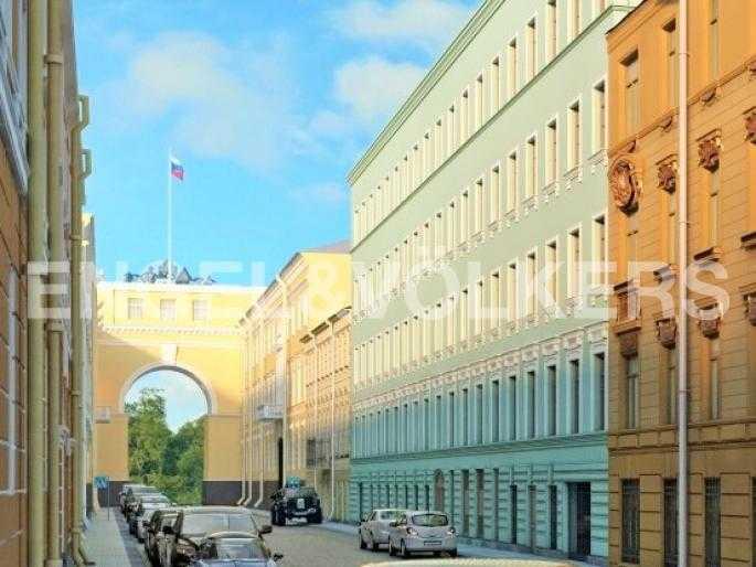 Элитные квартиры в Центральном районе. Санкт-Петербург, Конногвардейский б-р, 5. Галерная улица