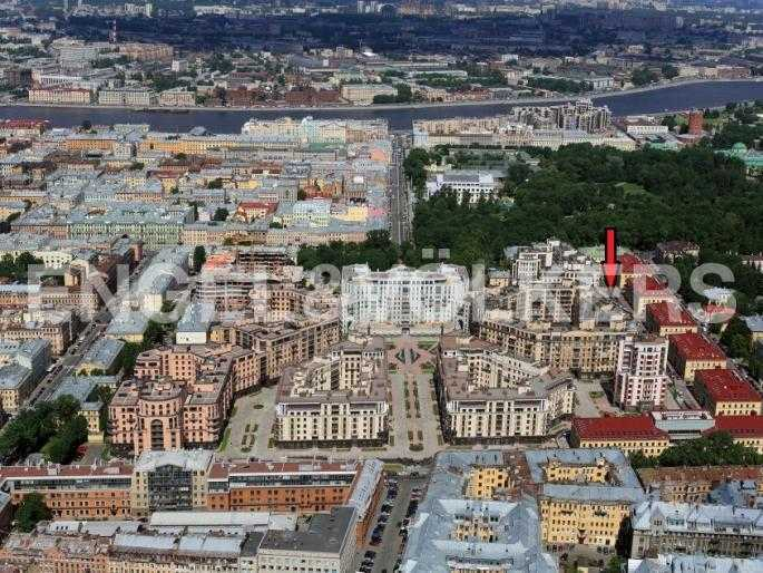 Элитные квартиры в Центральном районе. Санкт-Петербург, Парадная ул. 3. Месторасположение