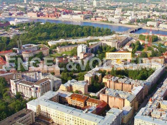 Элитные квартиры в Петроградский р-н. Санкт-Петербург, Льва Толстого, 8А. панорамный вид на Дом и его окружение