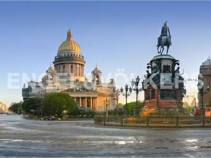 Элитные квартиры в Центральном районе. Санкт-Петербург, Конногвардейский б-р, 5. Ближайшее окружение комплекса