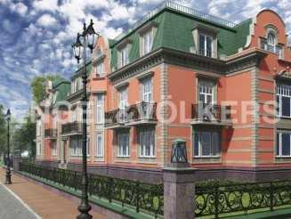 Del Arte — клубный дом на девять резиденций на Каменном о-ве