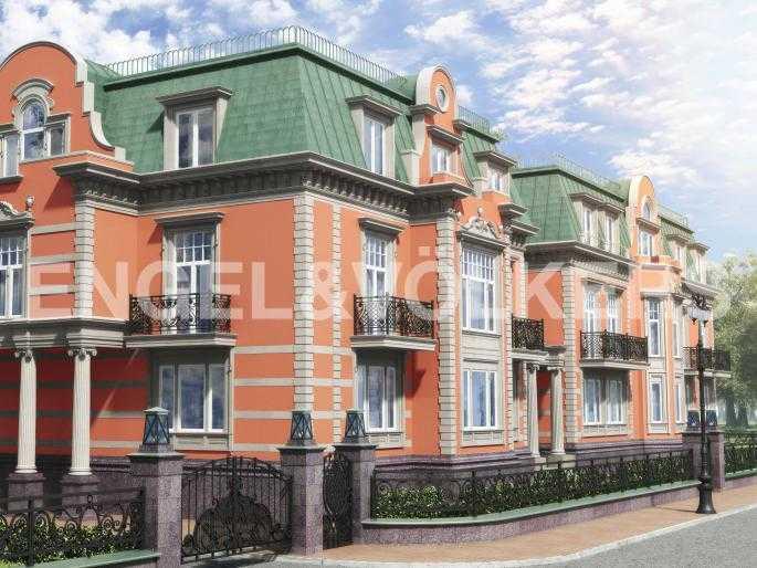 Элитные квартиры на . Санкт-Петербург, Санаторная, 3. Фасад здания со стороны Санаторной аллеи