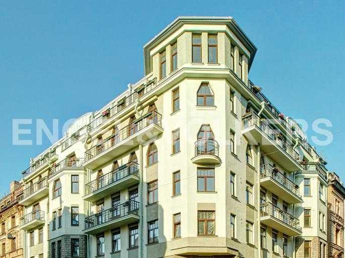 Элитные квартиры в Центральном районе. Санкт-Петербург, Стремянная, 15. Фасад