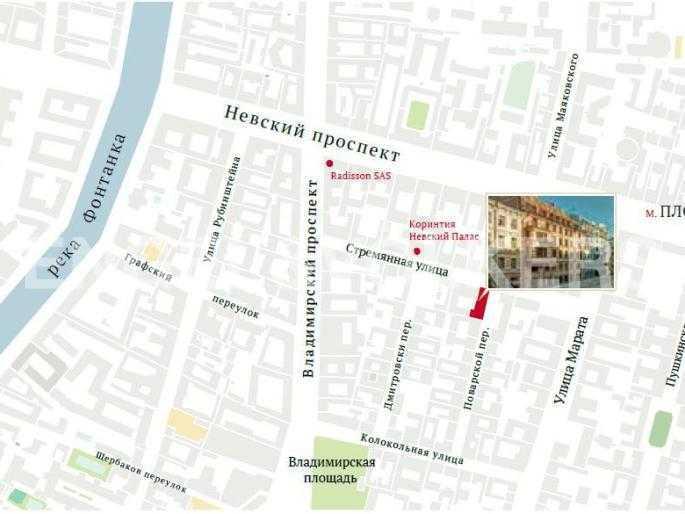 Элитные квартиры в Центральном районе. Санкт-Петербург, Стремянная, 15. Местоположение