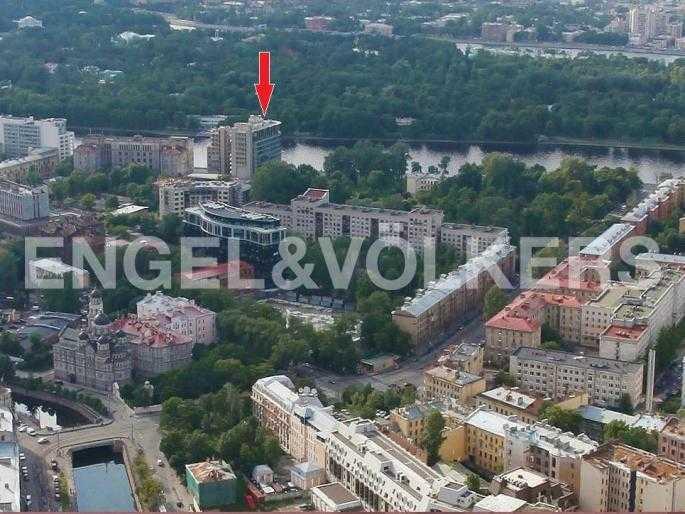 Элитные квартиры в Петроградском районе. Санкт-Петербург, Песочная, 12. Местоположение