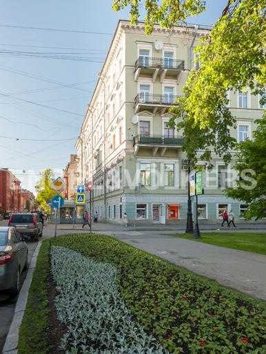Элитные квартиры в Других районах области. Санкт-Петербург, 12-линия, 7. Фасад дома