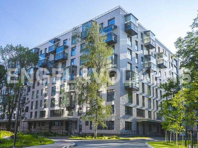 Элитные квартиры в Центральном районе. Санкт-Петербург, Орловская ул., 1. Фасад дома