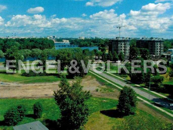 Элитные квартиры на . Санкт-Петербург, Морской проспект, 29. Расположение пятна застройки