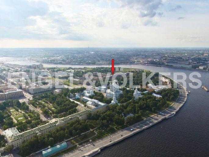 Элитные квартиры в Центральном районе. Санкт-Петербург, Орловская ул., 1. Месторасположение