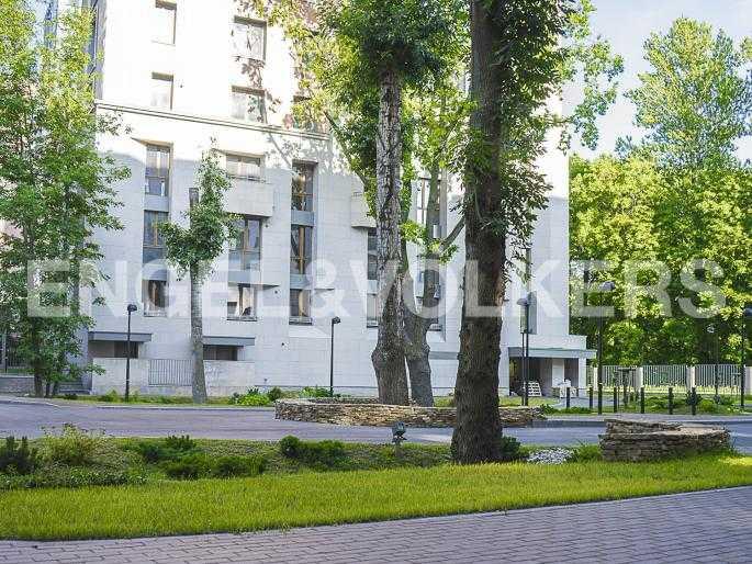 Элитные квартиры в Центральном районе. Санкт-Петербург, Орловская ул., 1. Внутренняя территория комплекса