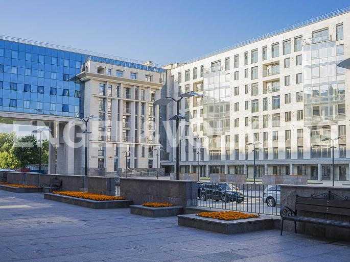 Элитные квартиры в Центральном районе. Санкт-Петербург, Орловская ул., 1. Фасад парадного корпуса комплекса