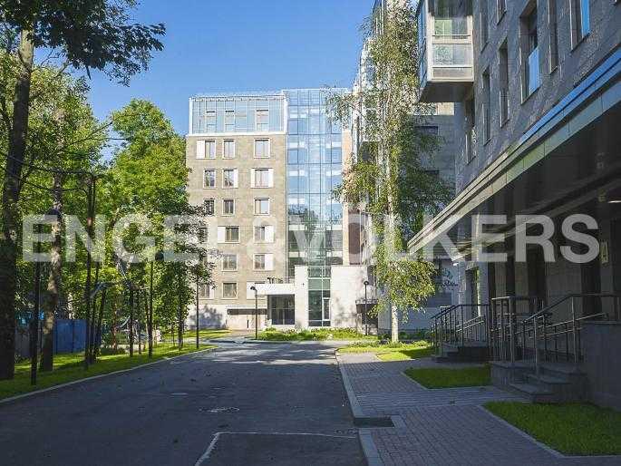 Элитные квартиры в Центральном районе. Санкт-Петербург, Орловская ул., 1. Парковая зона комплекса