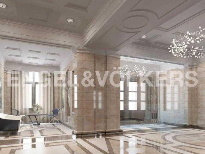 Элитные квартиры на . Санкт-Петербург, Морской проспект, 29. Отделка парадной