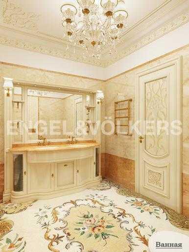 Элитные квартиры на . Санкт-Петербург, Вязовая, 10. Дизайн-проект ванной