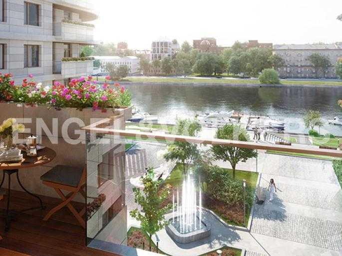 Возможный дизайн-проект балкона