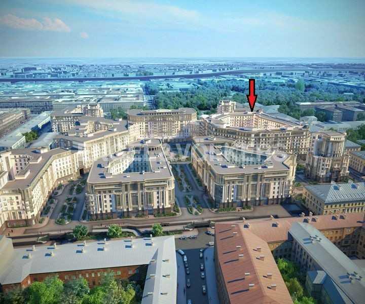Элитные квартиры в Центральном районе. Санкт-Петербург, Парадная ул. 3. Структура комплекса