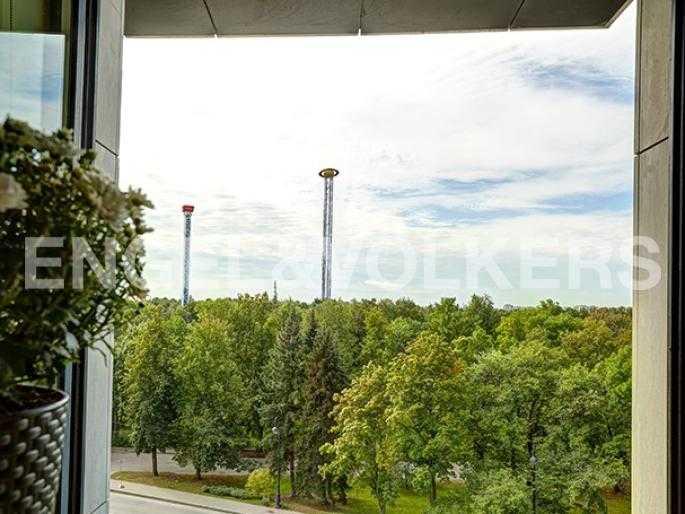 Элитные квартиры на . Санкт-Петербург, наб. Мартынова, 74Д. Вид из окна