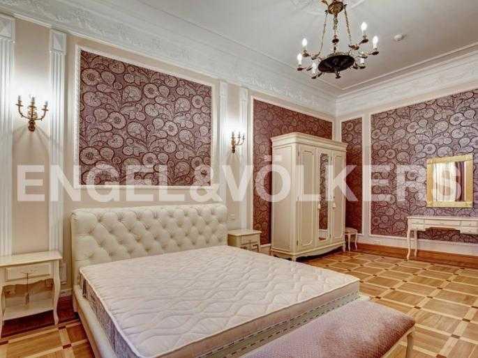 Элитные квартиры в Центральном районе. Санкт-Петербург, наб. реки Фонтанки, 54. Спальня