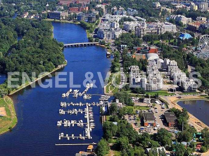 Элитные квартиры на . Санкт-Петербург, наб. Мартынова, 74Д. Расположение