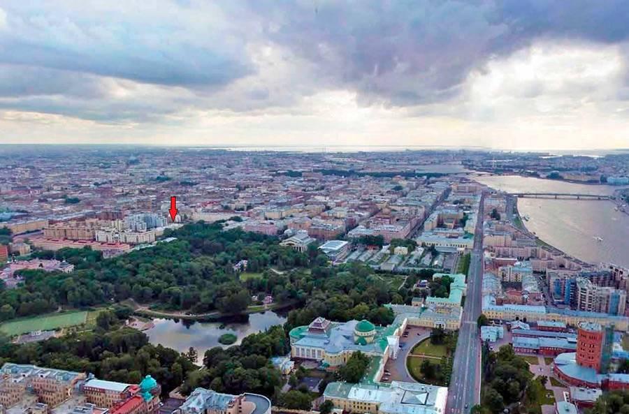 Элитные квартиры в Центральном районе. Санкт-Петербург, Радищева, 39. Месторасположение