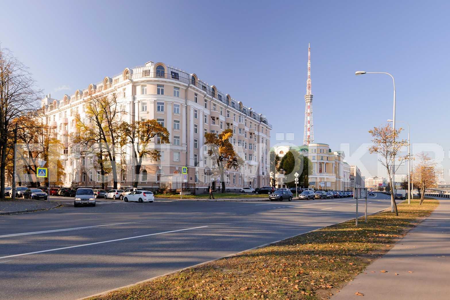 Элитные квартиры в Петроградском районе. Санкт-Петербург, Аптекарская наб., 6. Фасадная сторона комплекса