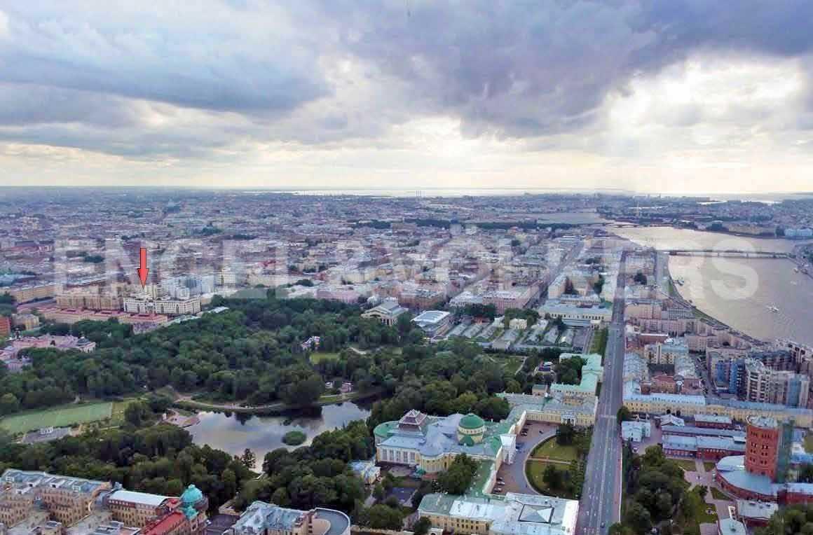 Элитные квартиры в Центральном районе. Санкт-Петербург, Парадная, 3. Месторасположение
