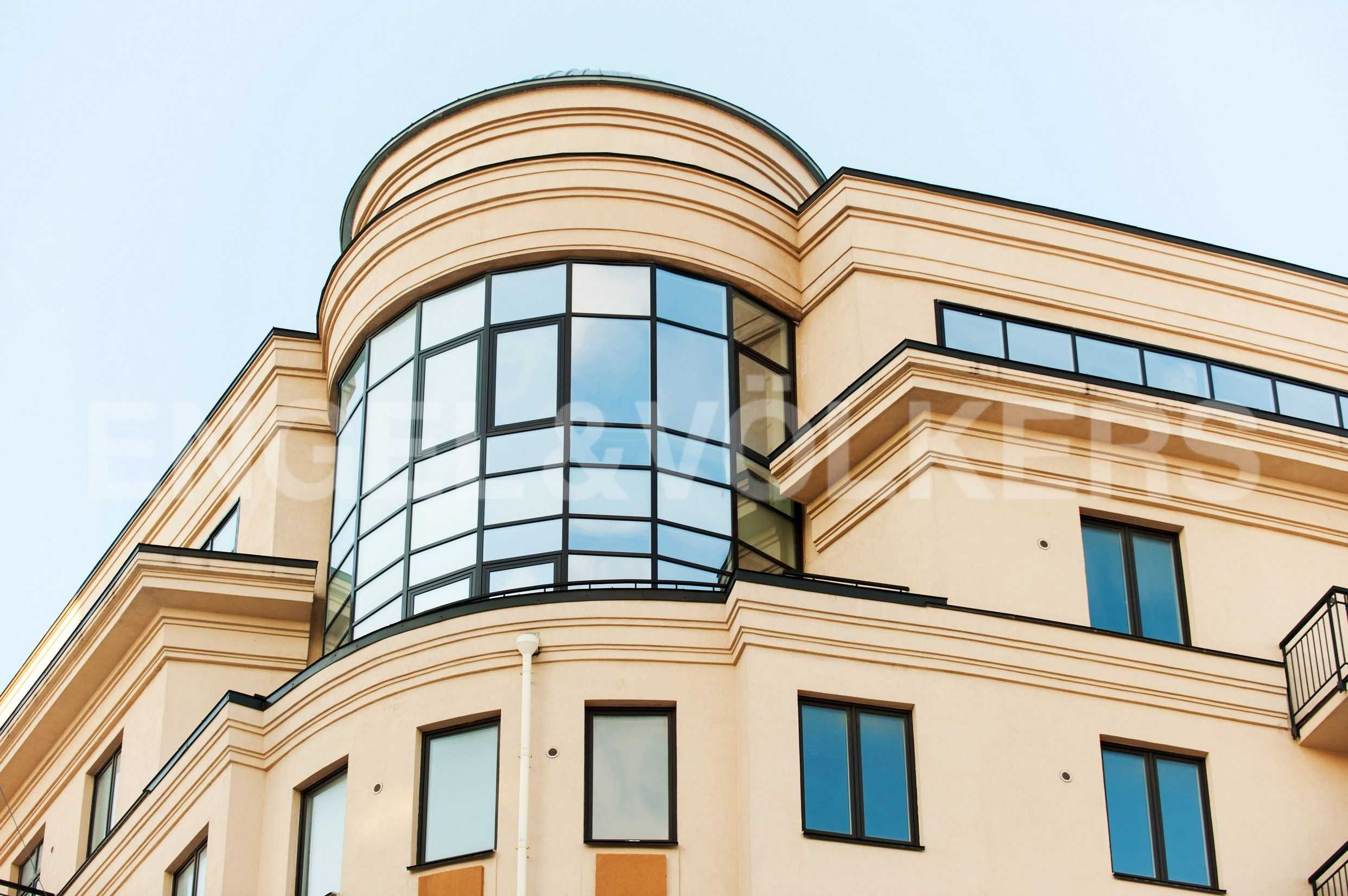 Элитные квартиры в Центральном районе. Санкт-Петербург, Парадная, 3. Квартира на фасаде дома