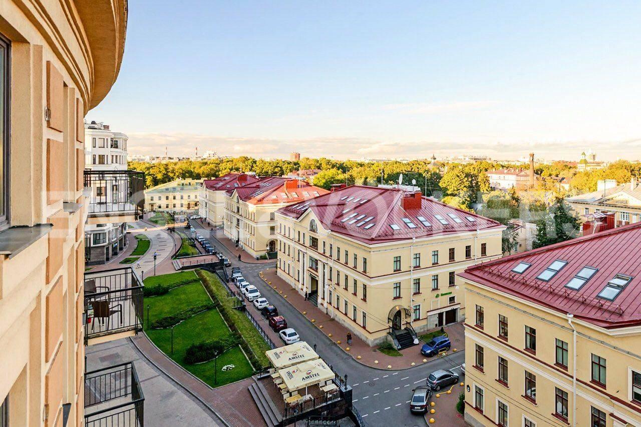 Элитные квартиры в Центральном районе. Санкт-Петербург, Парадная, 3. Фасад дома