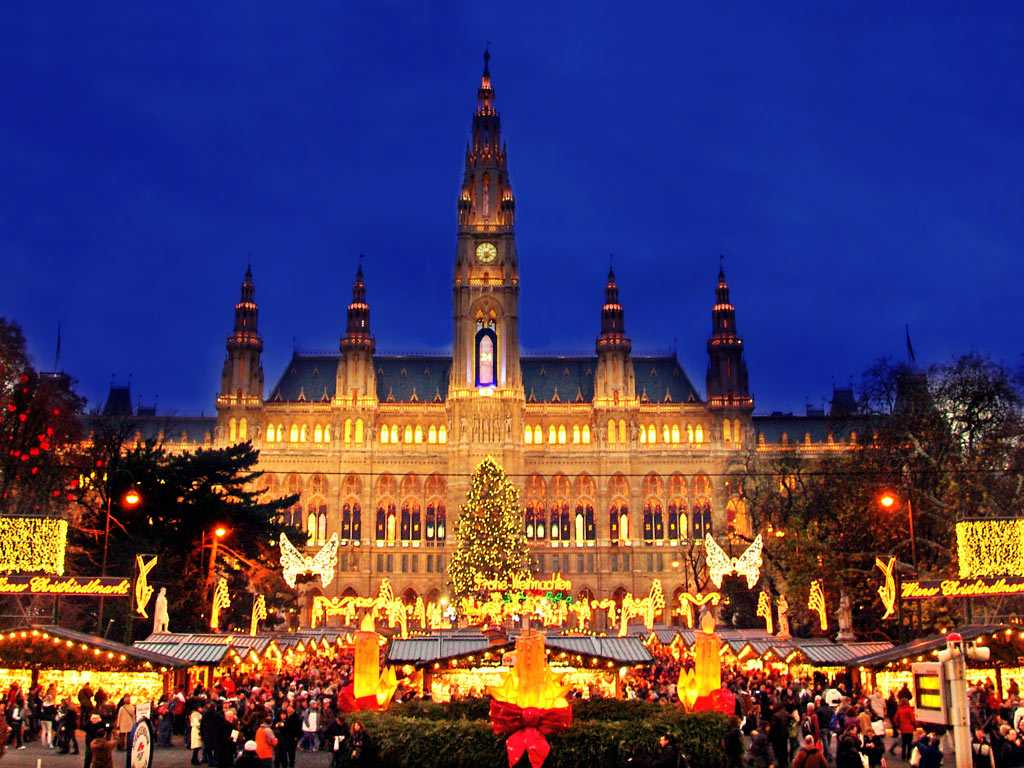 Рождественская елка. Вена