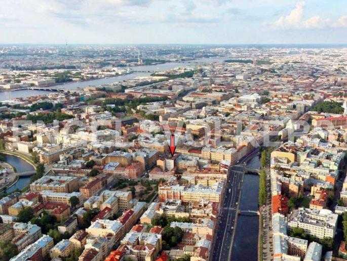 Элитные квартиры в Центральном районе. Санкт-Петербург, Английский пер., 29. Месторасположение