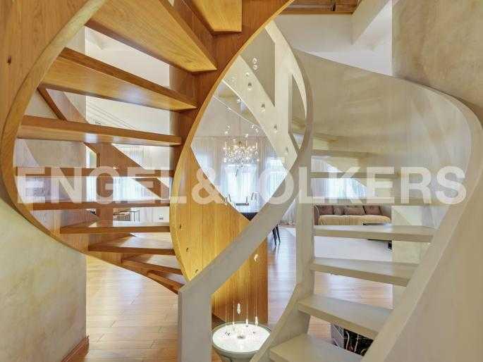 Индивидуальный дизайн винтовой лестницы
