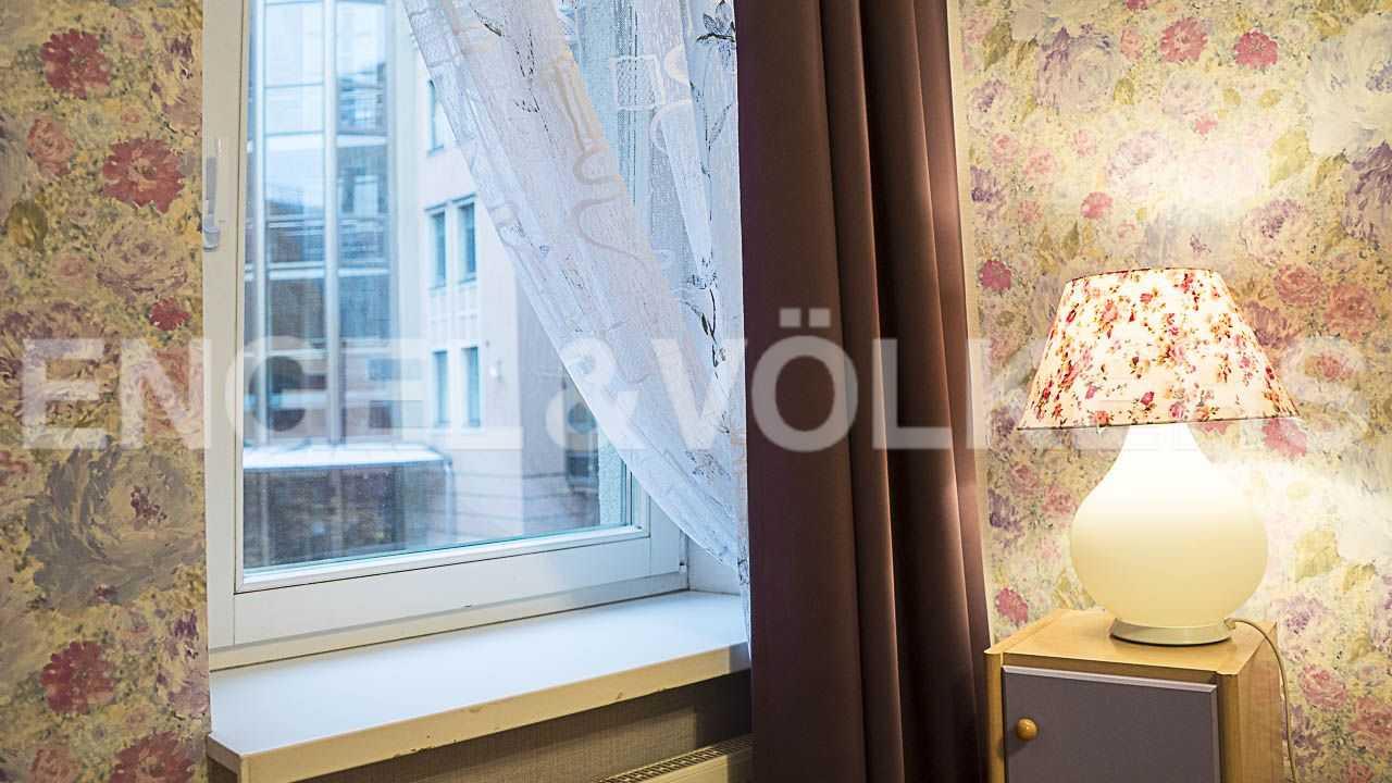 Элитные квартиры на . Санкт-Петербург, Морской пр., 11. Спальни с окном смотрят во внутренний благоустроенный двор дома