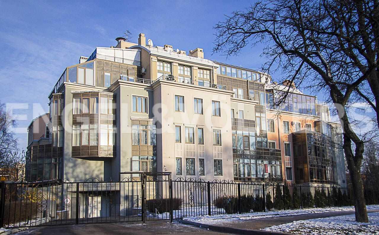 Элитные квартиры на . Санкт-Петербург, Морской пр., 11. Фасадная сторона комплекса