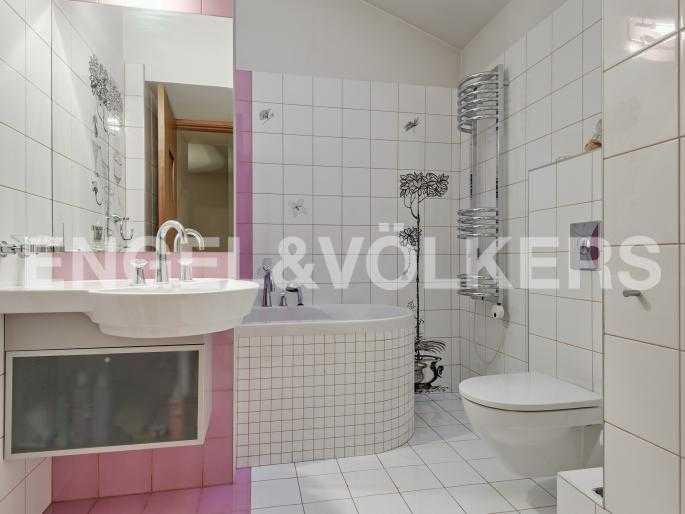 Ванная комната при детской