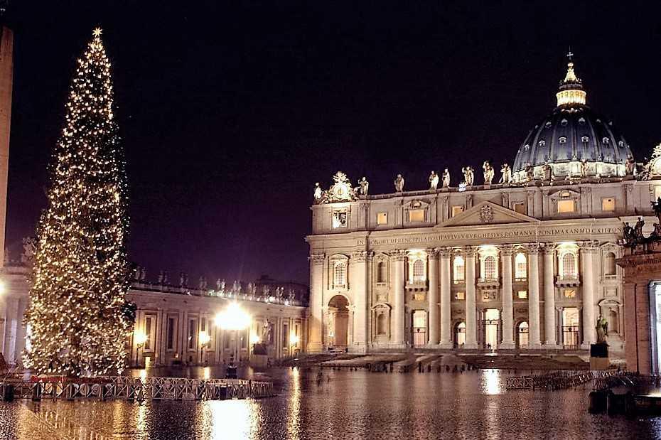 Рождественская елка. Ватикан